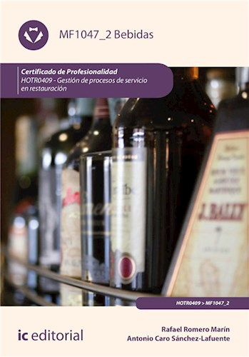 E-book Bebidas. Hotr0409