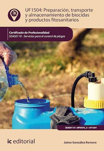Papel Preparación, Transporte Y Almacenamiento De Biocidas Y Productos Fitosanitarios. Seag0110 - Servicio