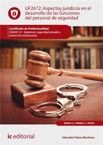 E-book Aspectos Jurídicos En El Desarrollo De Las Funciones Del Personal De Seguridad. Sead0112
