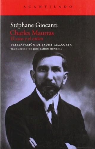 Papel CHARLES MAURRAS EL CAOS Y EL ORDEN