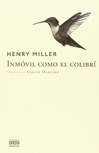 Libro Inmovil Como El Colibri