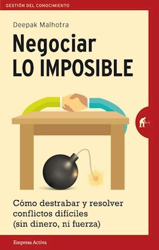 Libro Negociar Lo Imposible