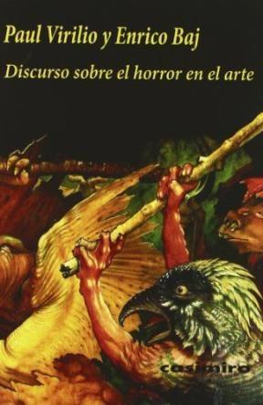 Papel Discurso Sobre El Horror En El Arte