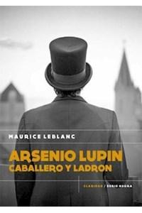Papel Arsenio Lupin. Caballero Y Ladron