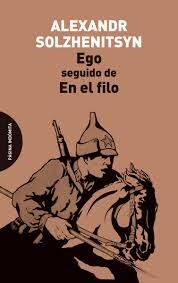 Papel EGO SEGUIDO DE EN EL FILO