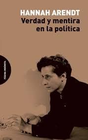 Papel VERDAD Y MENTIRA EN LA POLITICA