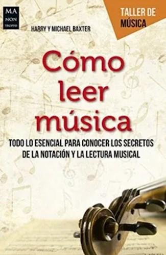 Libro Como Leer Musica (Taller De Musica)