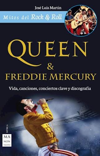 Libro Queen & Freddie Mercury