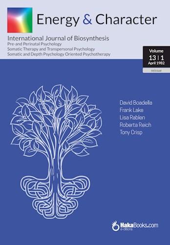 Libro Revista Energy And Character Volumen 13-1