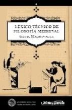 Papel LEXICO TECNICO DE FILOSOFIA MEDIEVAL TB