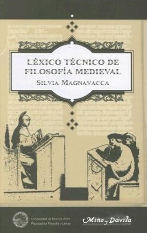Papel LEXICO TECNICO DE FILOSOFIA MEDIEVAL TD