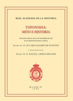 E-book Toponimia: Mito E Historia
