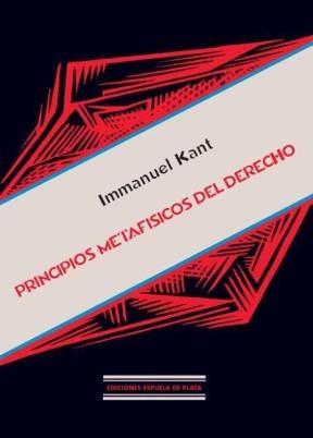 E-book Principios Metafísicos Del Derecho