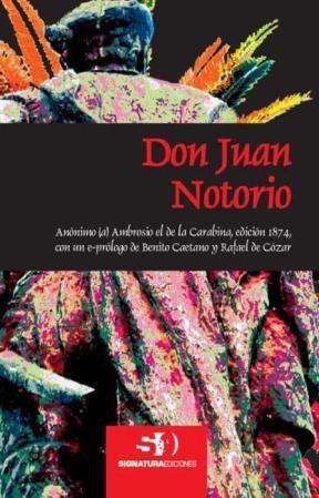 E-book Don Juan Notorio