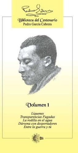 E-book Biblioteca Del Centenario Pedro García Cabrera - Volumen 1