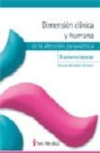 Papel DIMENSION CLINICA HUMANA DE LA AT. PSIQ TRASTORNO BIPOLAR