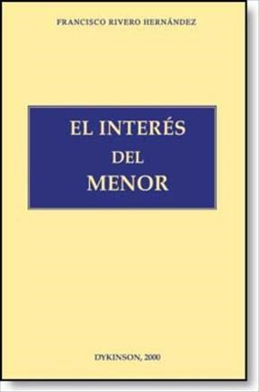 E-book El Interés Del Menor