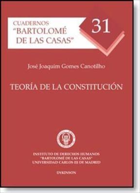 E-book Teoría De La Constitución