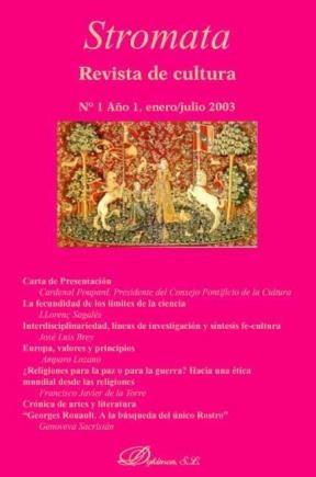 E-book Stromata. Revista De Cultura Nº 1
