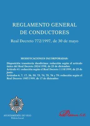 E-book Reglamento General De Conductores. Real Decreto 772/1997, De 30 De Mayo