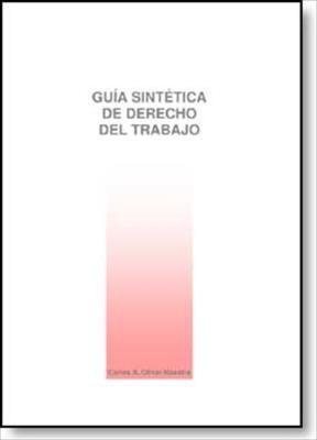 E-book Guía Sintética De Derecho Del Trabajo