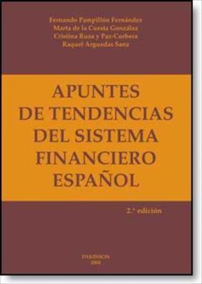 E-book Apuntes De Tendencias Del Sistema Financiero Español