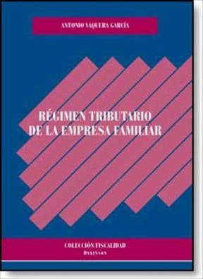 E-book Régimen Tributario De La Empresa Familiar