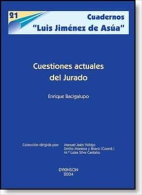 E-book Cuestiones Actuales Del Jurado