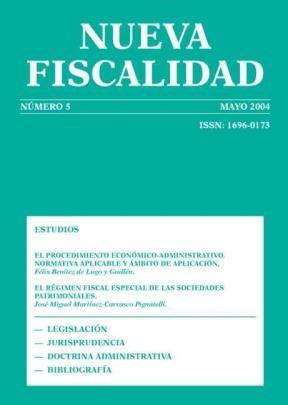 E-book Revista Nueva Fiscalidad, Mayo 2004
