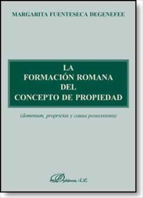 E-book La Formación Romana Del Concepto De Propiedad
