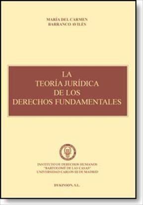 E-book La Teoría Jurídica De Los Derechos Fundamentales