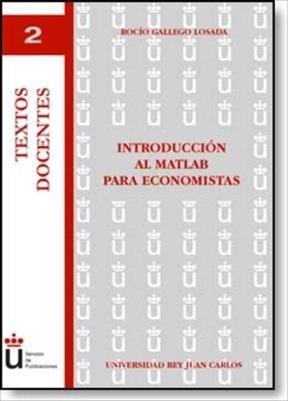E-book Introducción Al Matlab Para Economistas