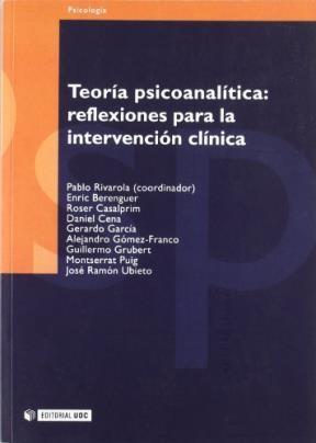 Papel TEORIA PSICOANALITICA: REFLEXIONES PARA LA INTERVENCION CLIN