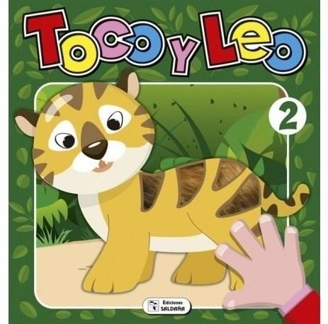 Libro Toco Y Leo - Tigre 2 (Texturado)