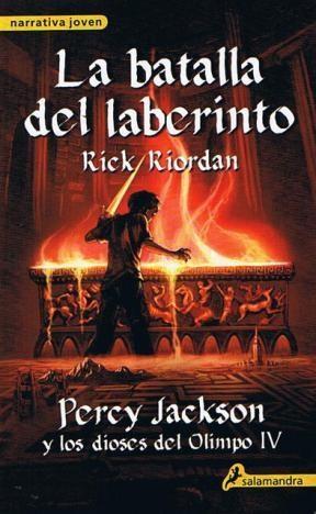 Papel Percy Jackson Y Los Dioses Del Olimpo Iv - La Batalla Del Laberinto