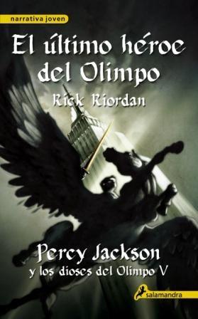Papel Percy Jackson Y Los Dioses Del Olimpo V - El Ultimo Heroe Del Olimpo