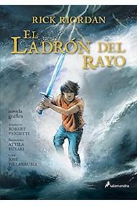 Papel El Ladron Del Rayo ( Novela Grafica)
