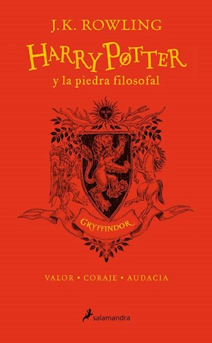 Libro Harry Potter Y La Piedra Filosofal ( Gryffindor )20 Aniversario