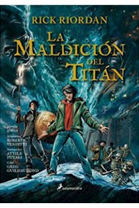 Papel La Maldicion Del Titan  (Dioses Del Olimpo 3)