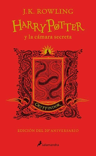 Libro Harry Potter Y La Camara Secreta ( Gryffindor )