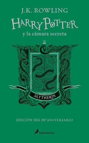 Libro Harry Potter Y La Camara Secreta ( Slytherin )