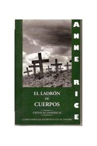 Papel Cronicas Vampiricas Iv - El Ladron De Cuerpos