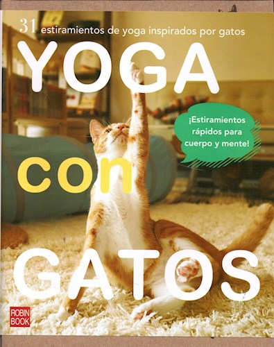 Papel Yoga Con Gatos