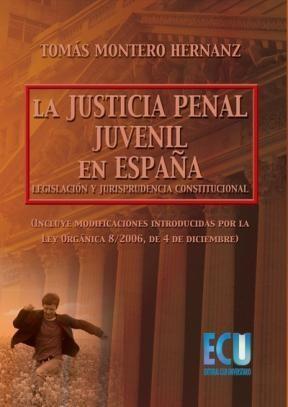 E-book La Justicia Penal Juvenil En España: Legislación Y Jurisprudencia Constitucional
