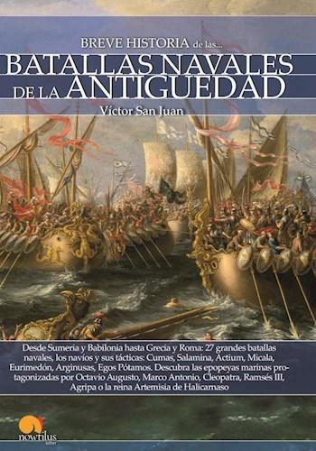 Libro Breve Historia De Las Batallas Navales De La Antiguedad
