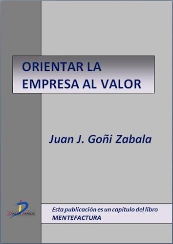 E-book Orientar La Empresa Al Valor