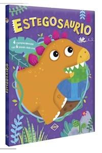 Papel Estegosaurio  - 4 Rompecabezas