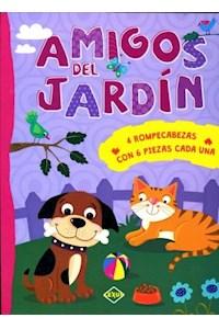Papel Amigos Del Jardin - 4 Rompecabezas
