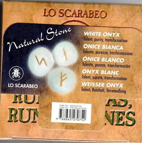 Papel Onice Blanco Runas