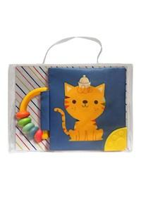 Papel Mi Libro Suave Con Sonajero Y Mordillo: Gato